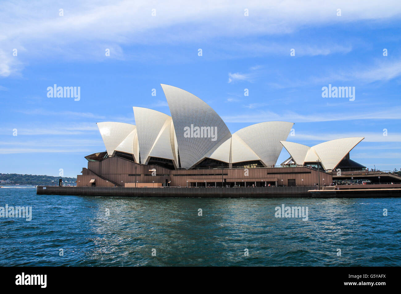 Nice view of Sydney Opera House - Stock Image