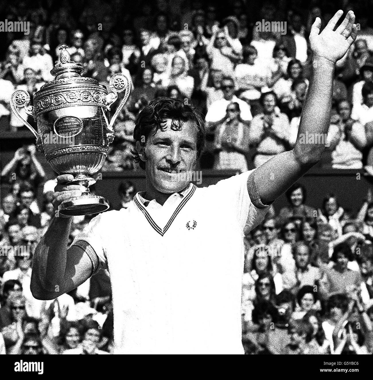 Kodes wins at Wimbledon - Stock Image