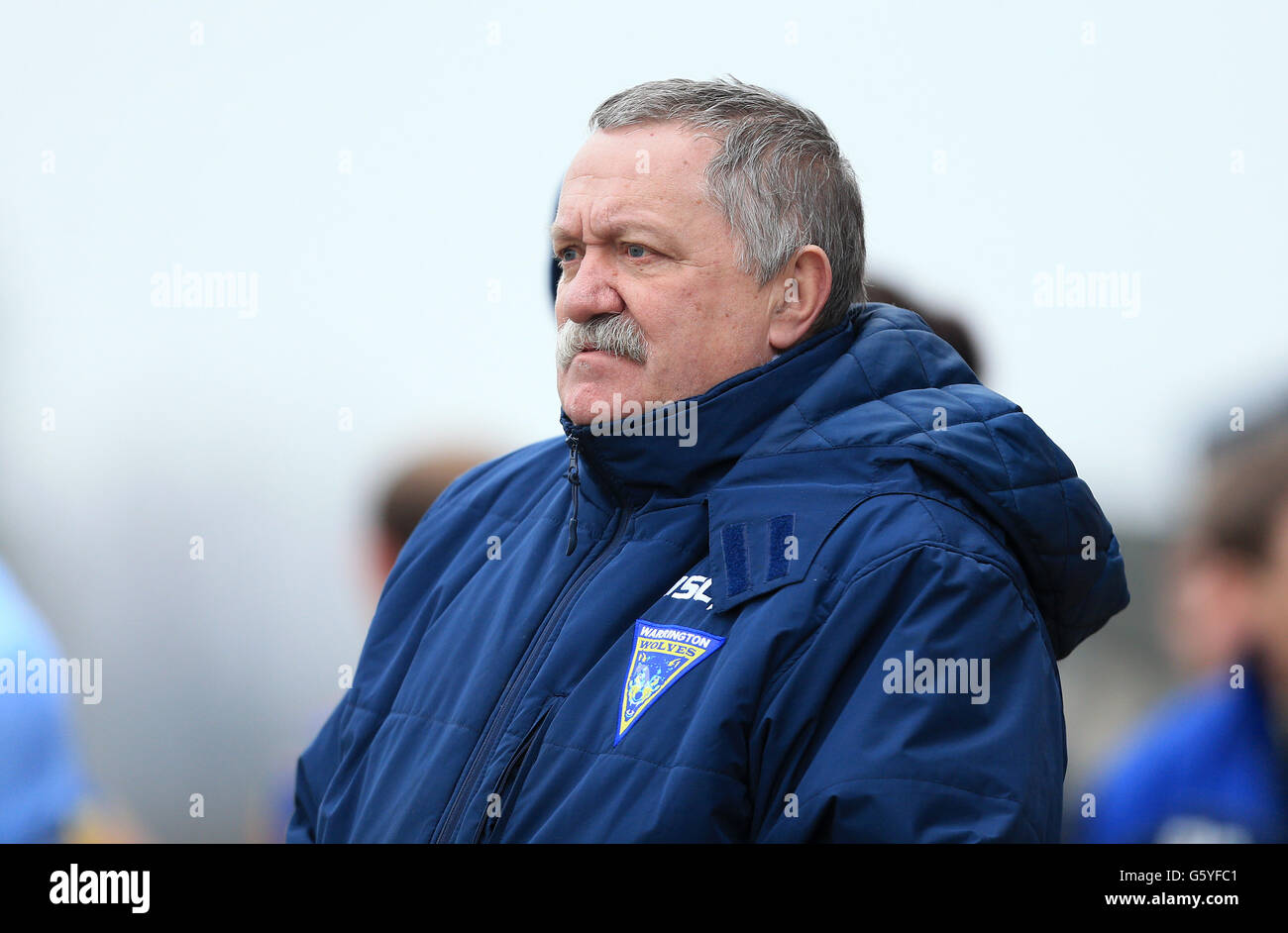 Rugby League - Stobart Super League - Hull Kingston Rovers v Warrington Wolves - Craven Park - Stock Image