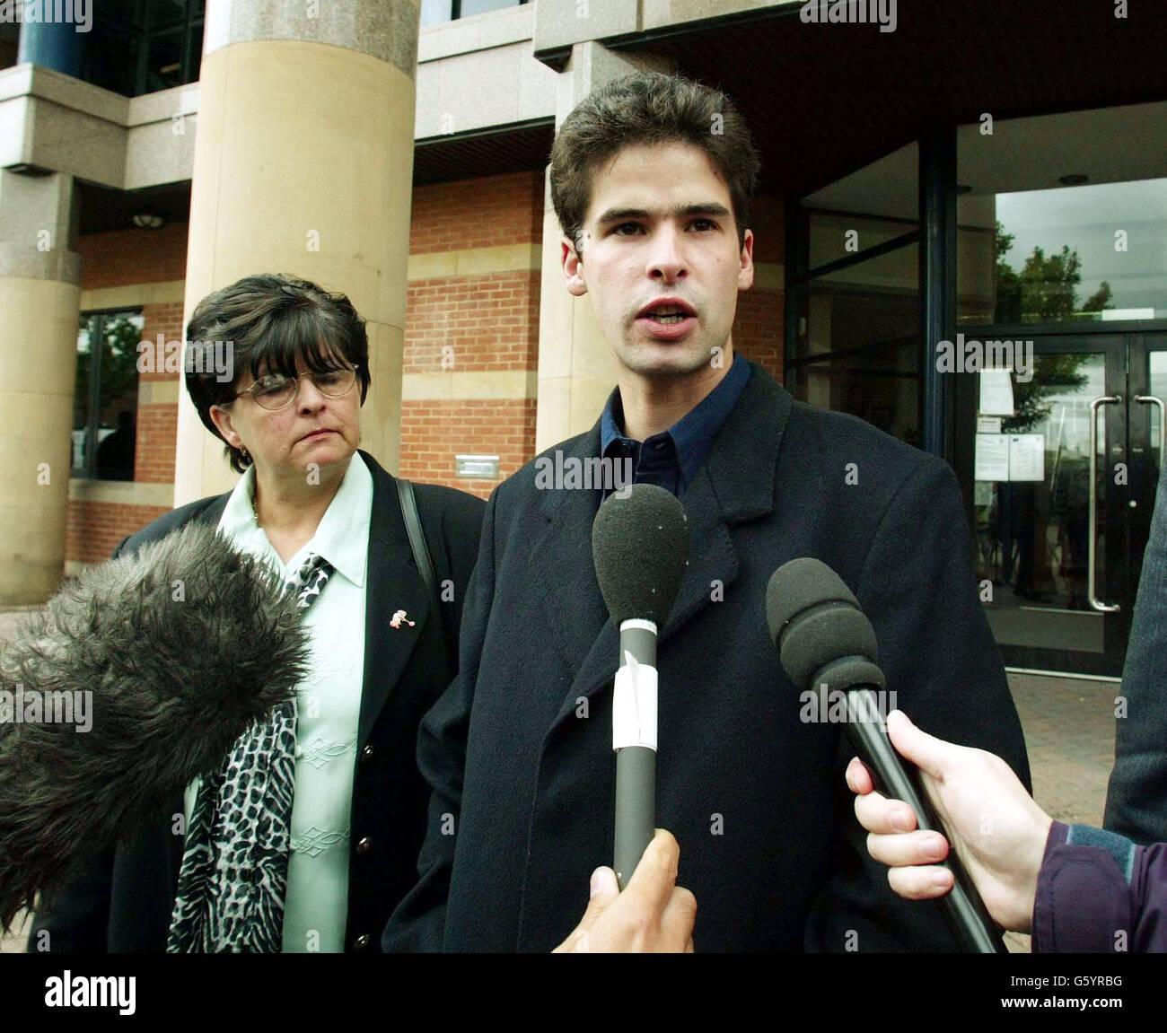 Jamie Bright - Bully victim - Stock Image
