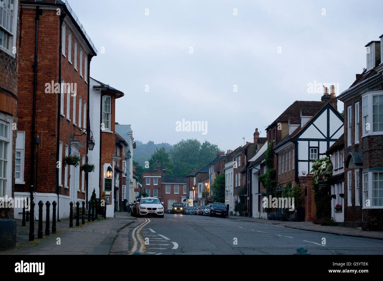 New St, Henley on Thames, early morning - Stock Image