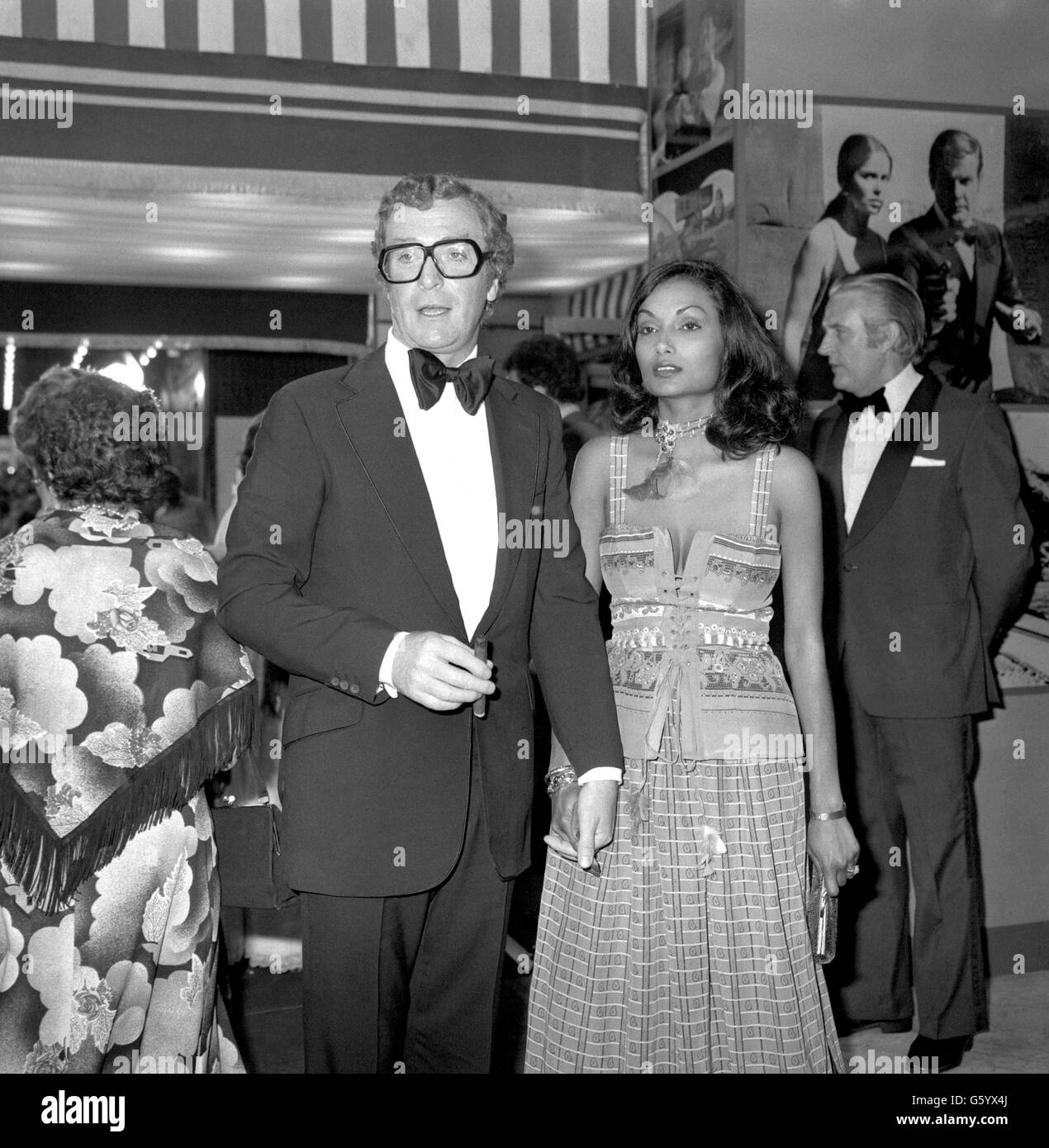 Entertainment - Michael Caine - Premiere of The Spy Who Loved Me - Odeon - Leicester Square - Stock Image