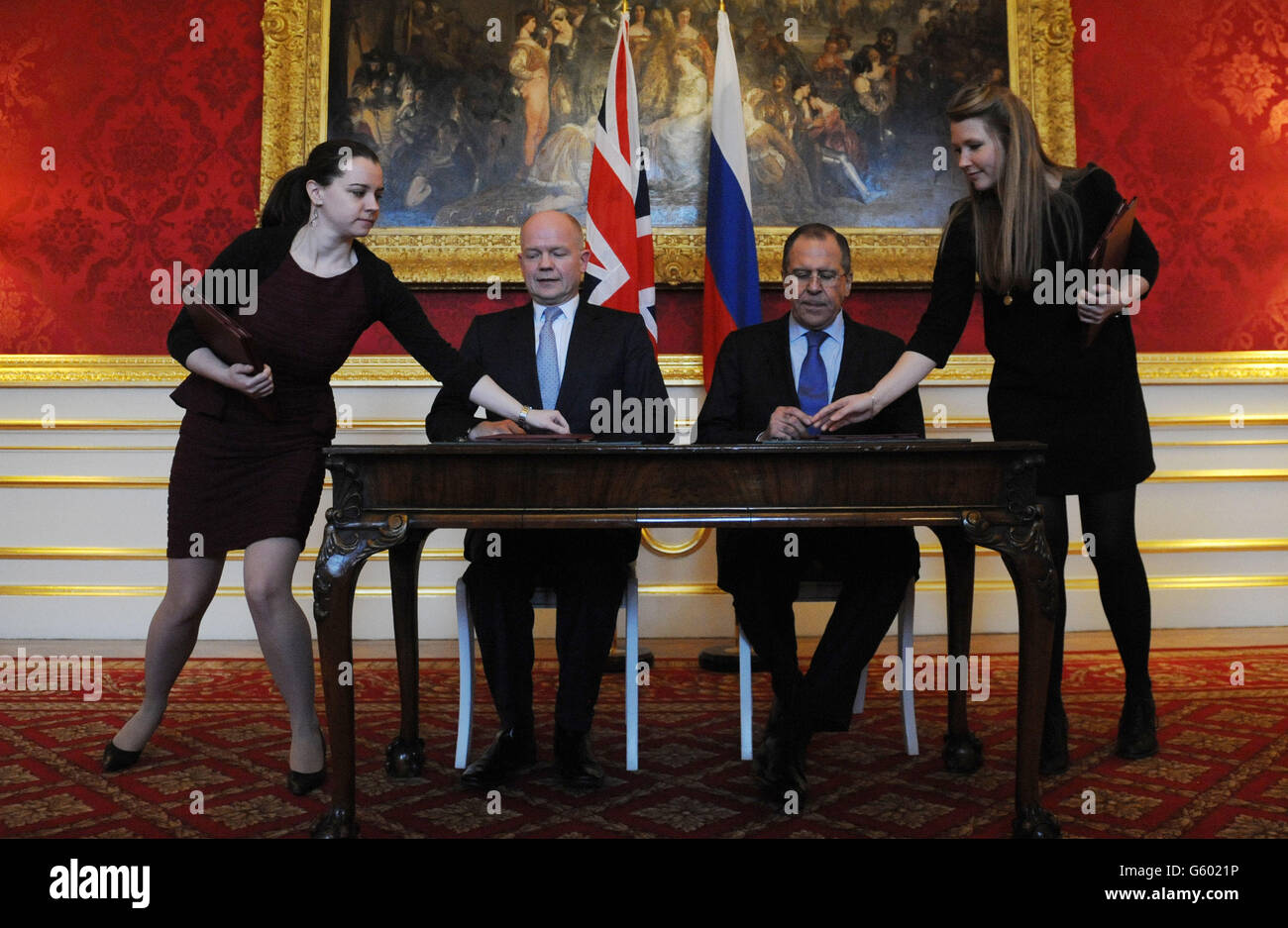 Lancaster house agreement stock photos lancaster house agreement uk russia summit stock image platinumwayz