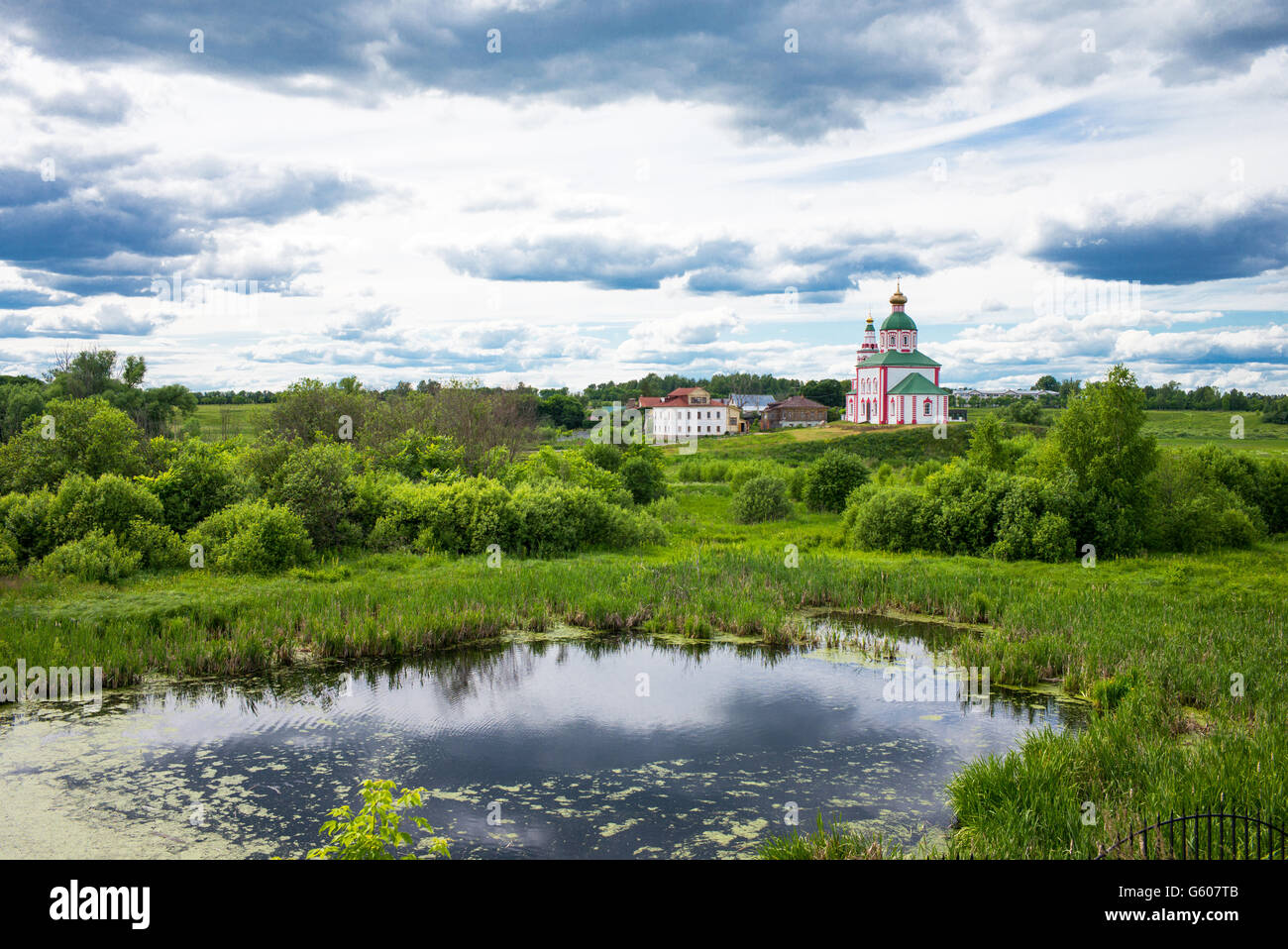 Russia, Suzdal, landscape of the country - Stock Image