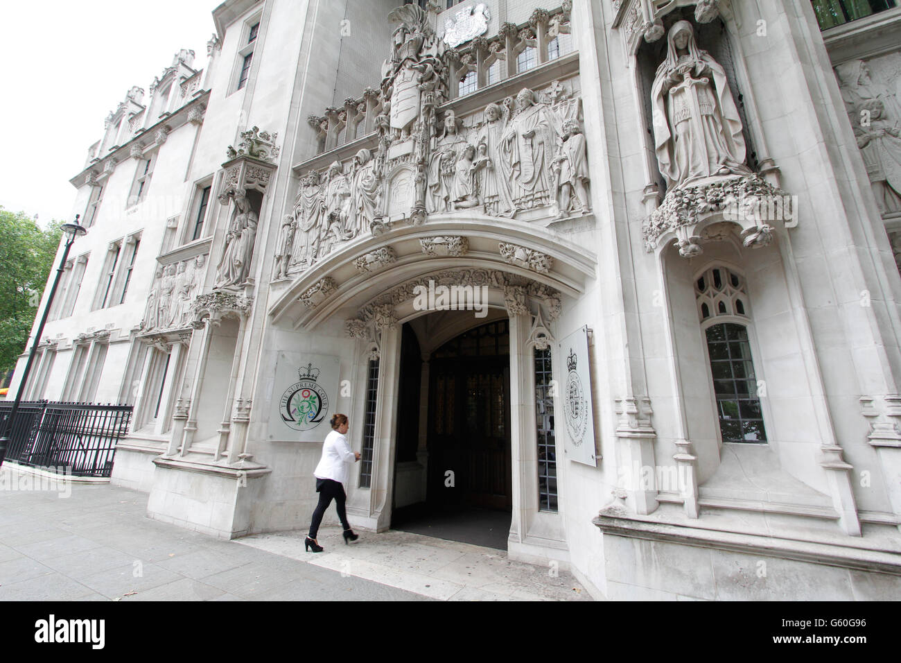 Judicial Committee of the Privy Council, The Supreme Court, Westminster, London - Stock Image