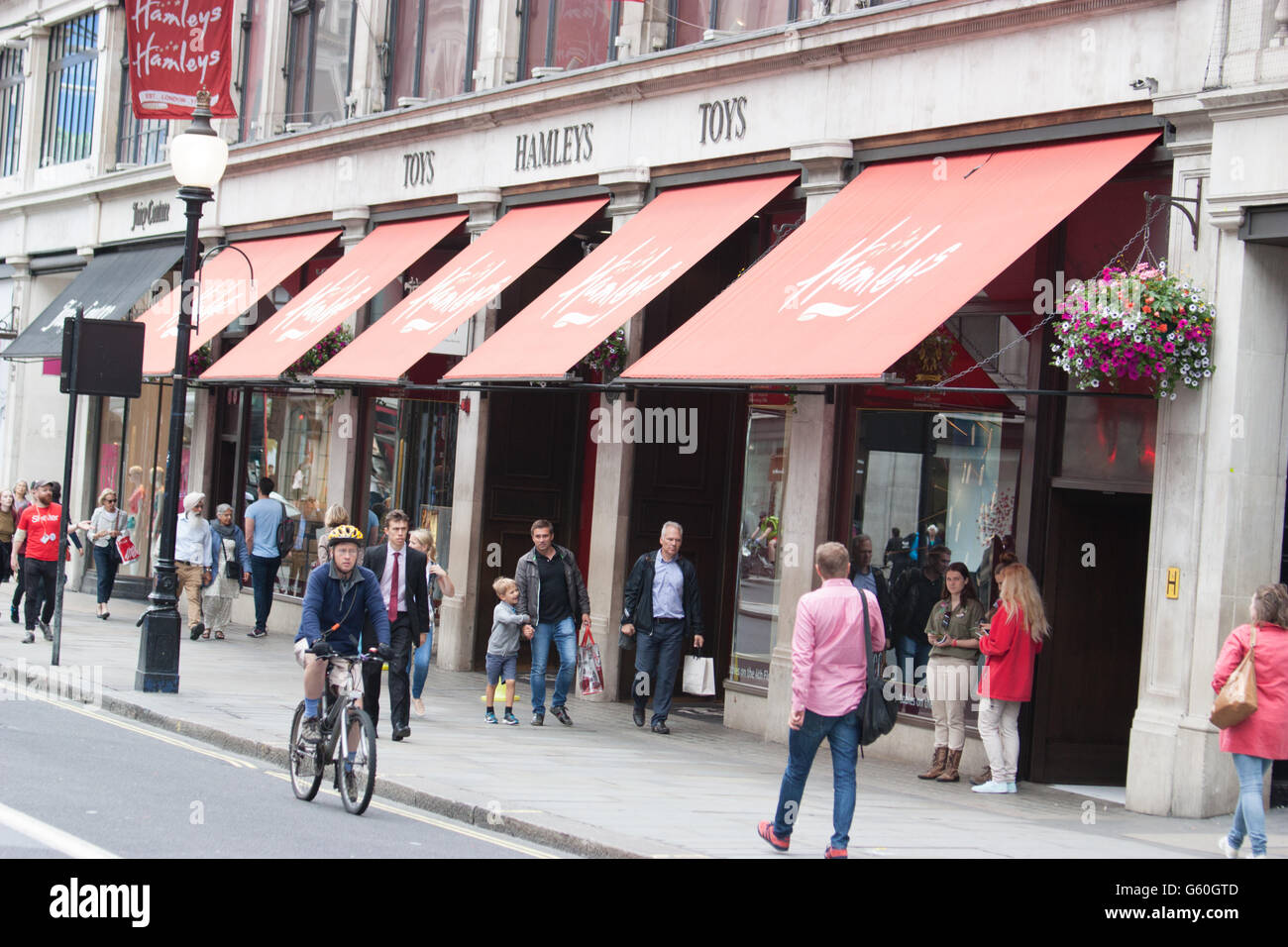 Hamleys toy shop Regent Street London UK - Stock Image