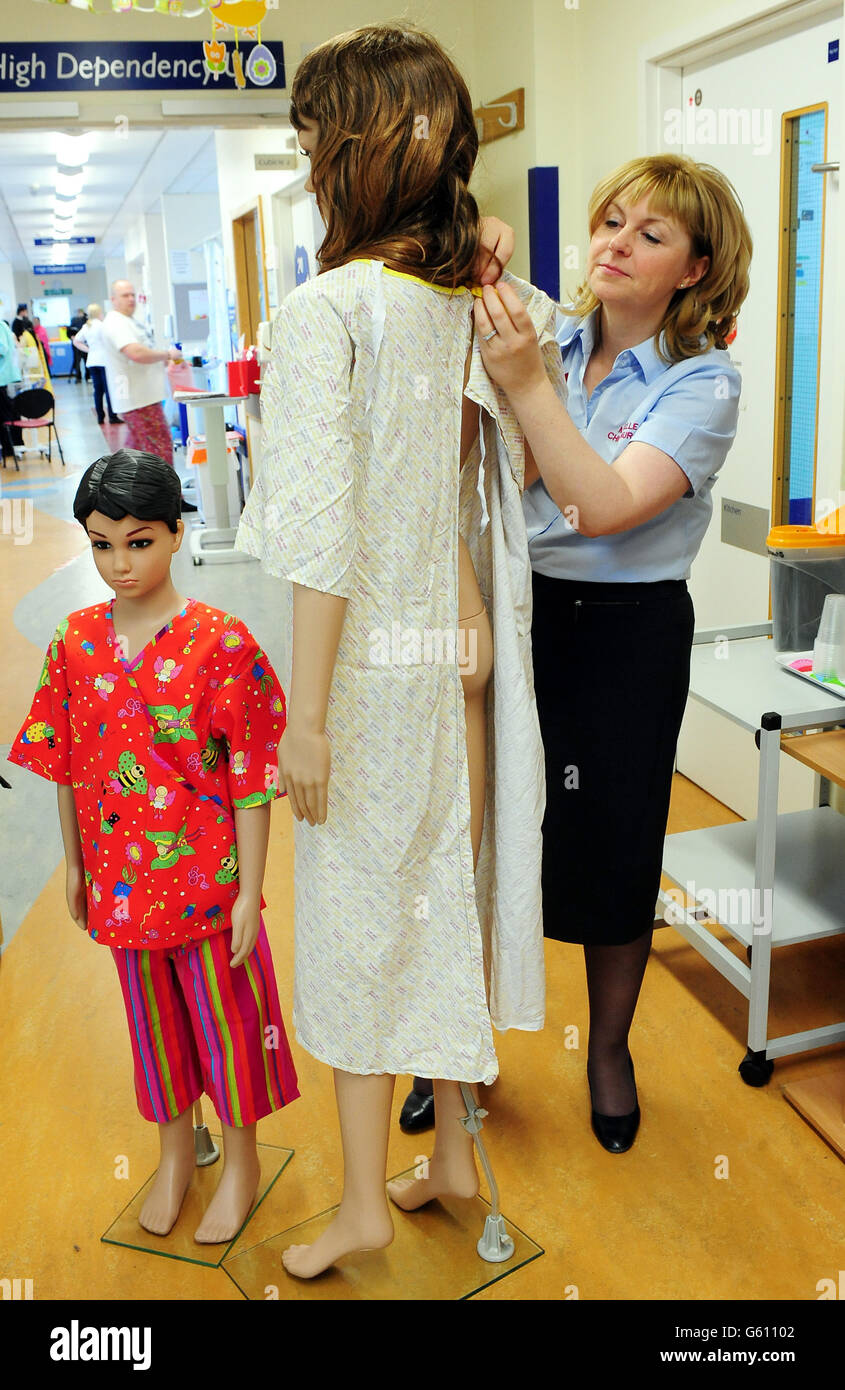 To Replace The Old Nhs Gowns At Birmingham Childrens Hospital Stock ...