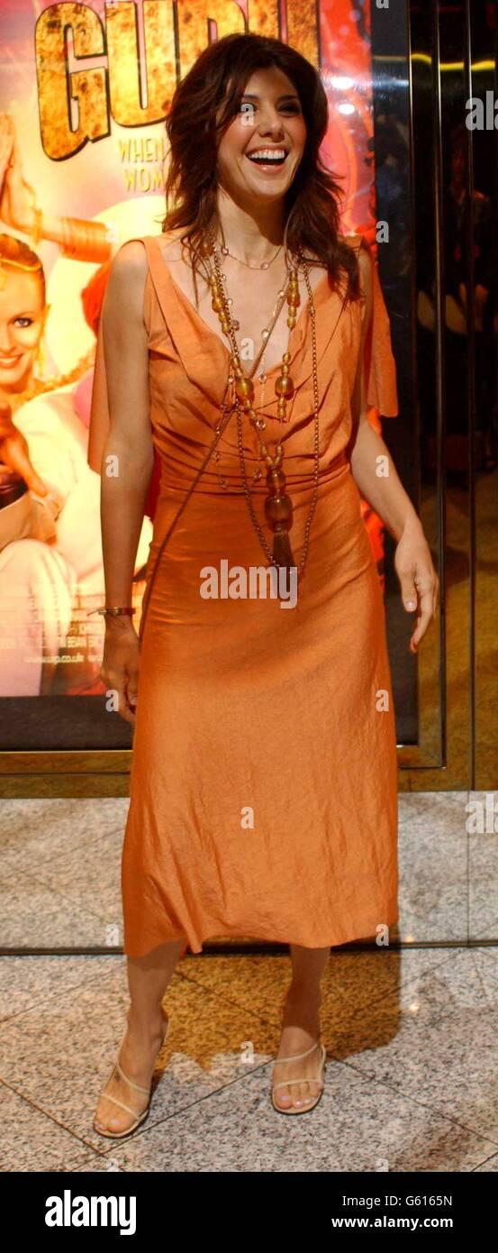 Marisa Tomei The Guru premiere - Stock Image