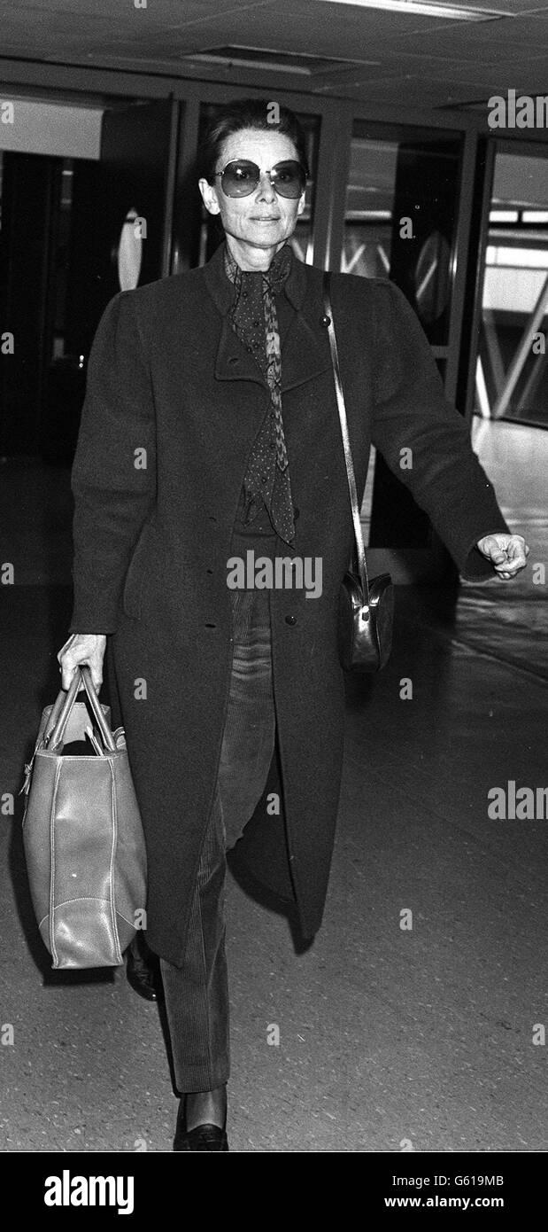 Audrey Hepburn - Stock Image