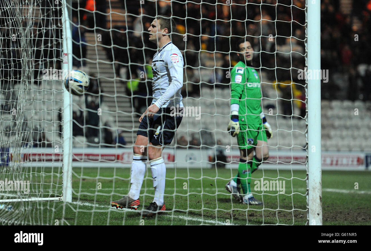 Soccer - npower Football League One - Preston North End v Oldham Athletic - Deepdale - Stock Image