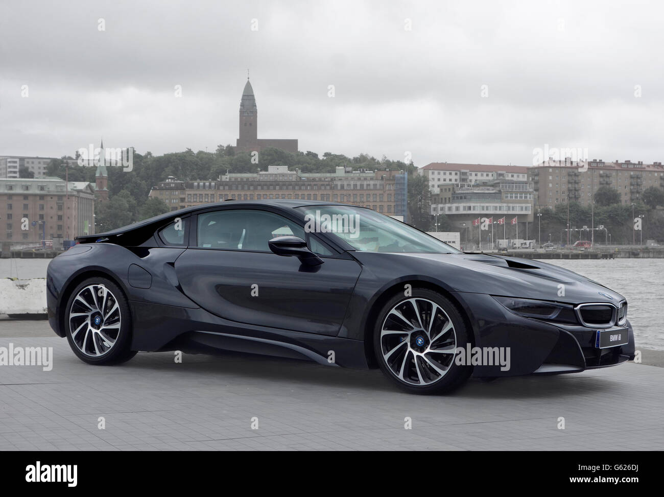 Bmw I8 Sports Car Stock Photos Bmw I8 Sports Car Stock Images Alamy