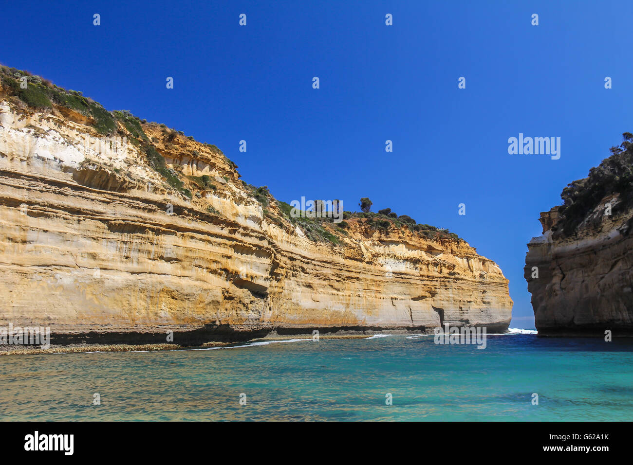 Loch Ard Gorge in Australia Great ocean road - Stock Image