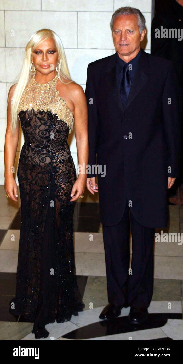 donatella versace famous dress