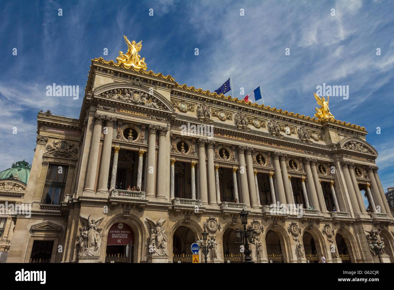 Garnier Opera in Paris - Stock Image