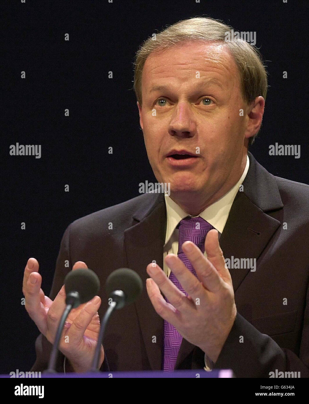 Damian Green - Tory Conference - Stock Image