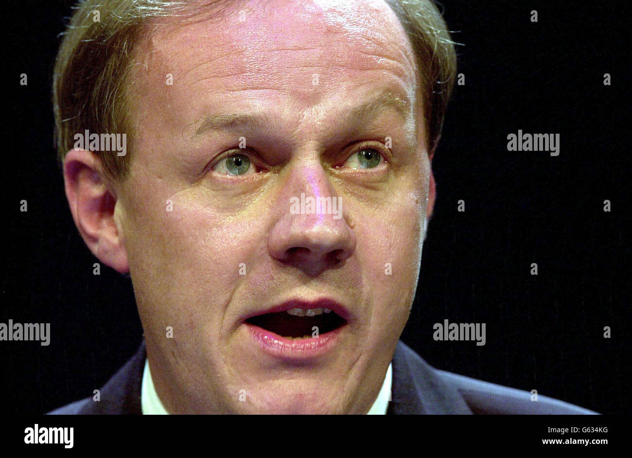 Tory Conference - Damian Green - Stock Image