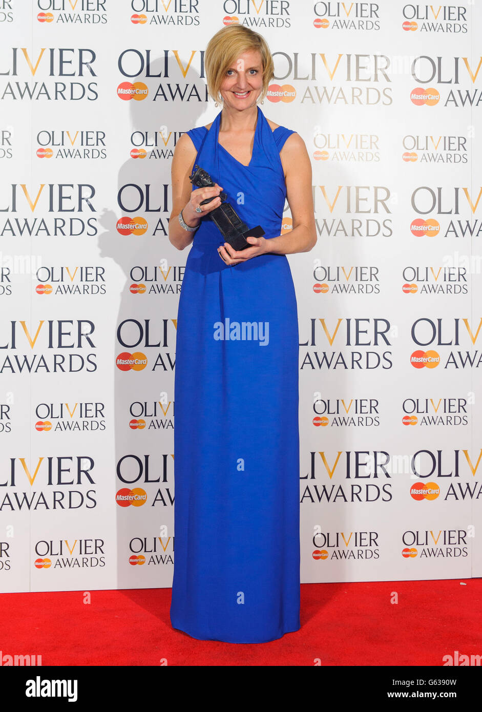 Olivier Awards 2013 Press Room - London - Stock Image