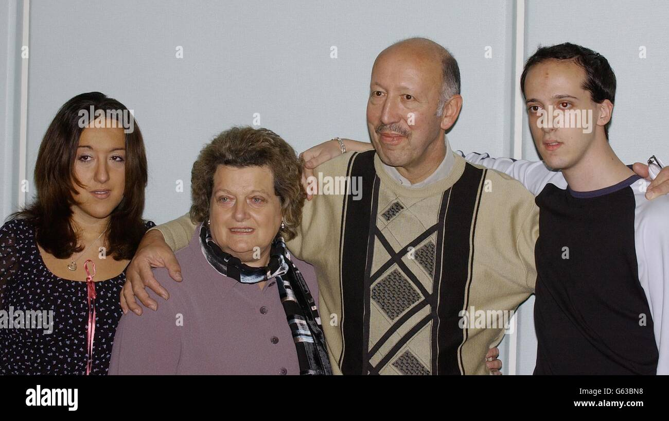 Low Family  Chechen Hostages - Stock Image