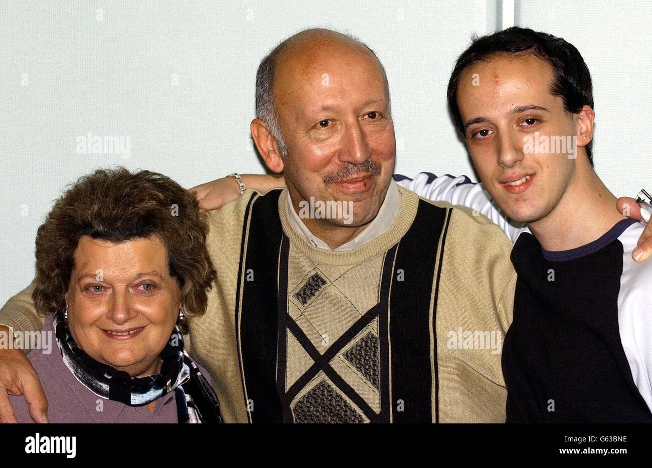 Peter Low Chechen Hostages Stock Photo