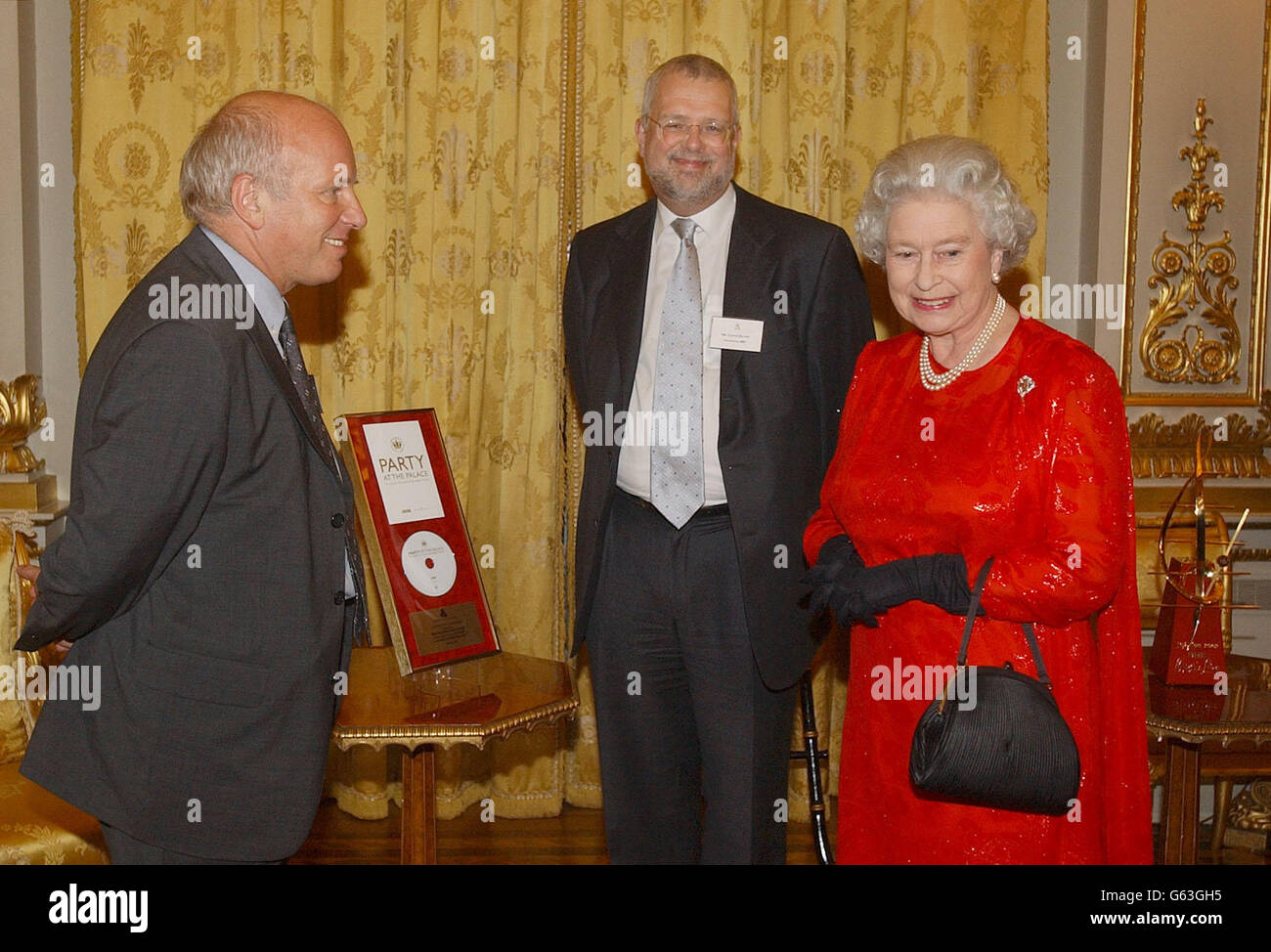 Queen - Reception for Jubilee Organisers - Stock Image