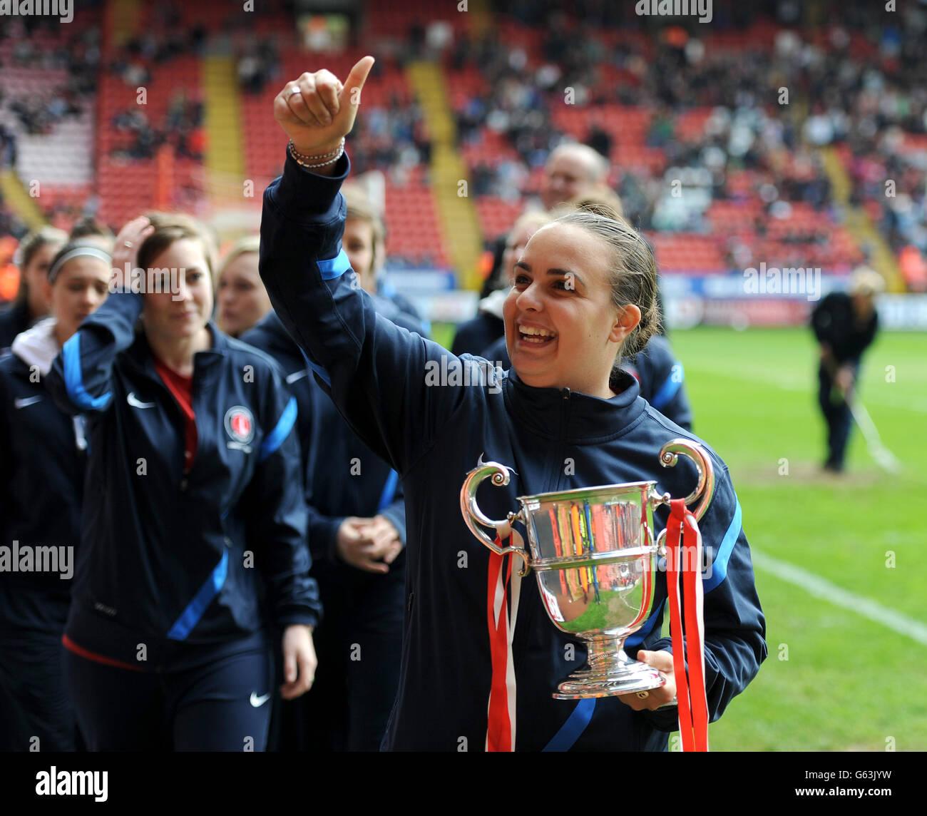 Soccer - npower Football League Championship - Charlton Athletic v Bristol City - The Valley Stock Photo