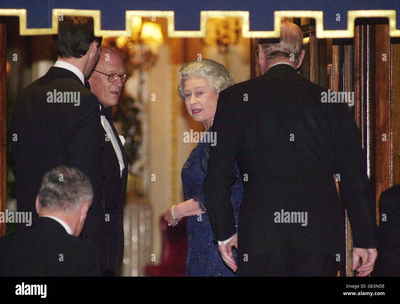 Royalty - Queen Elizabeth II Golden Jubilee - Stock Image