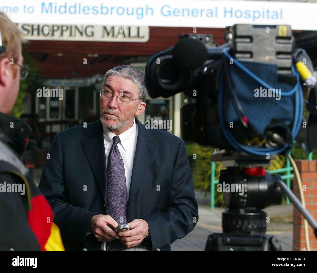 Dr Paul Lawler - CJD Scare Stock Photo