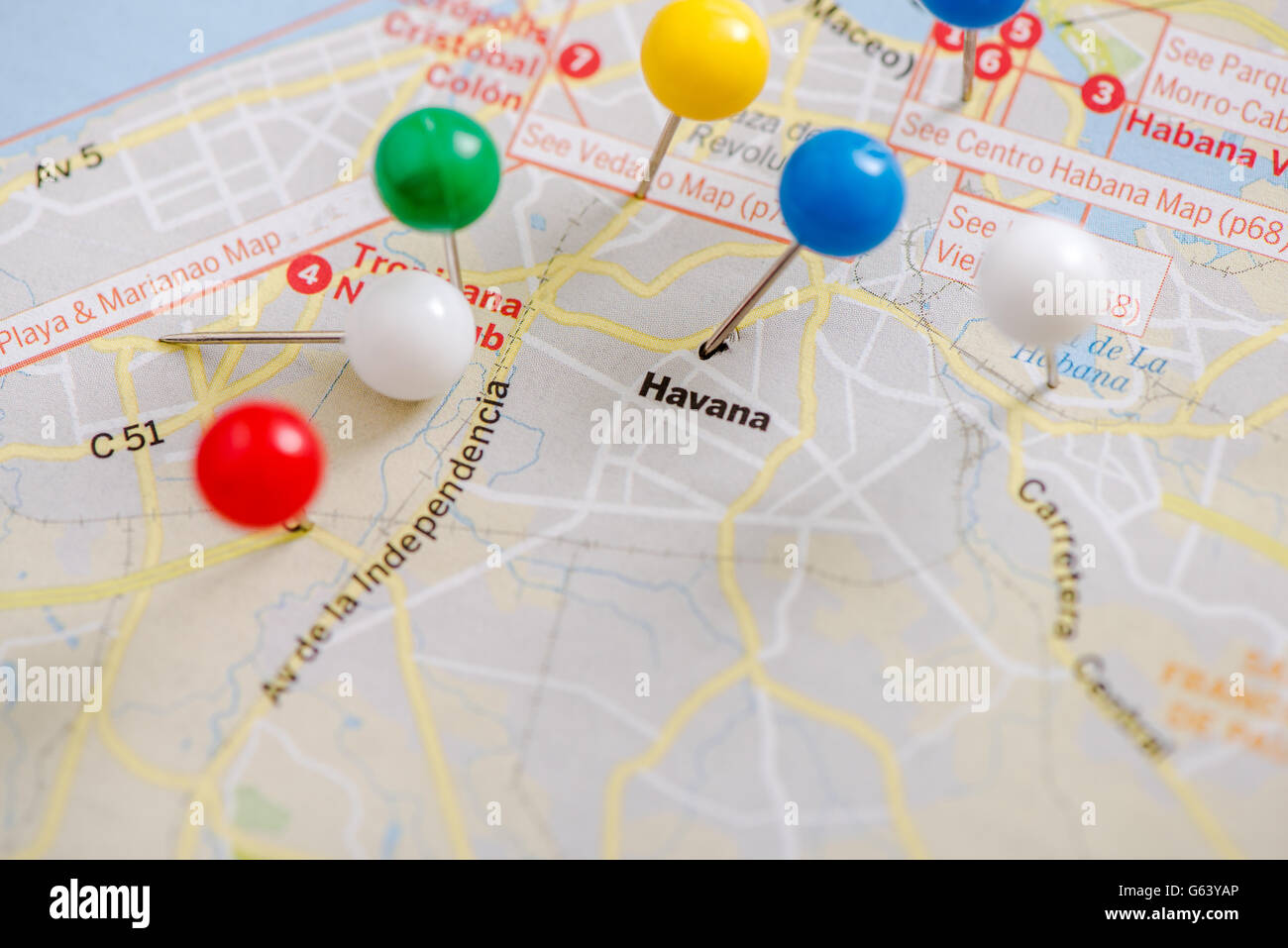 pin pointed on Havana on Cuba map, road trip planning ... on hunting maps, europe maps, germany maps, france maps, information maps, italy maps, decision making maps, transportation maps, australia maps, turkey maps, canada maps, halloween maps, asia maps, new zealand maps,