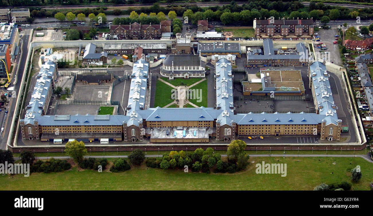 Crime and Legal Issues - Prisons - HMP Wormwood Scrubs - London - Stock Image