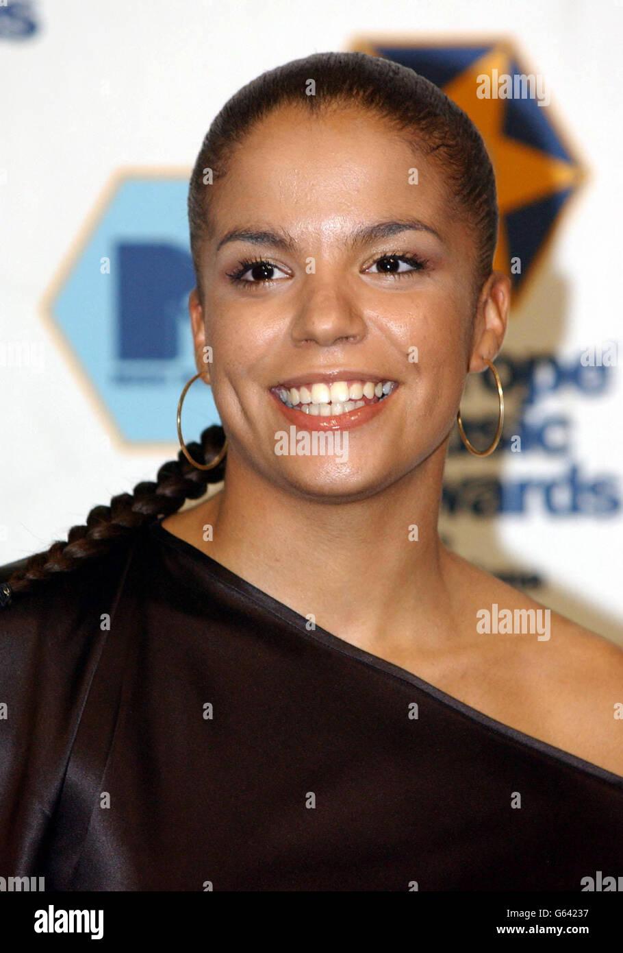 Ms Dynamite - MTV Europe Awards - Stock Image