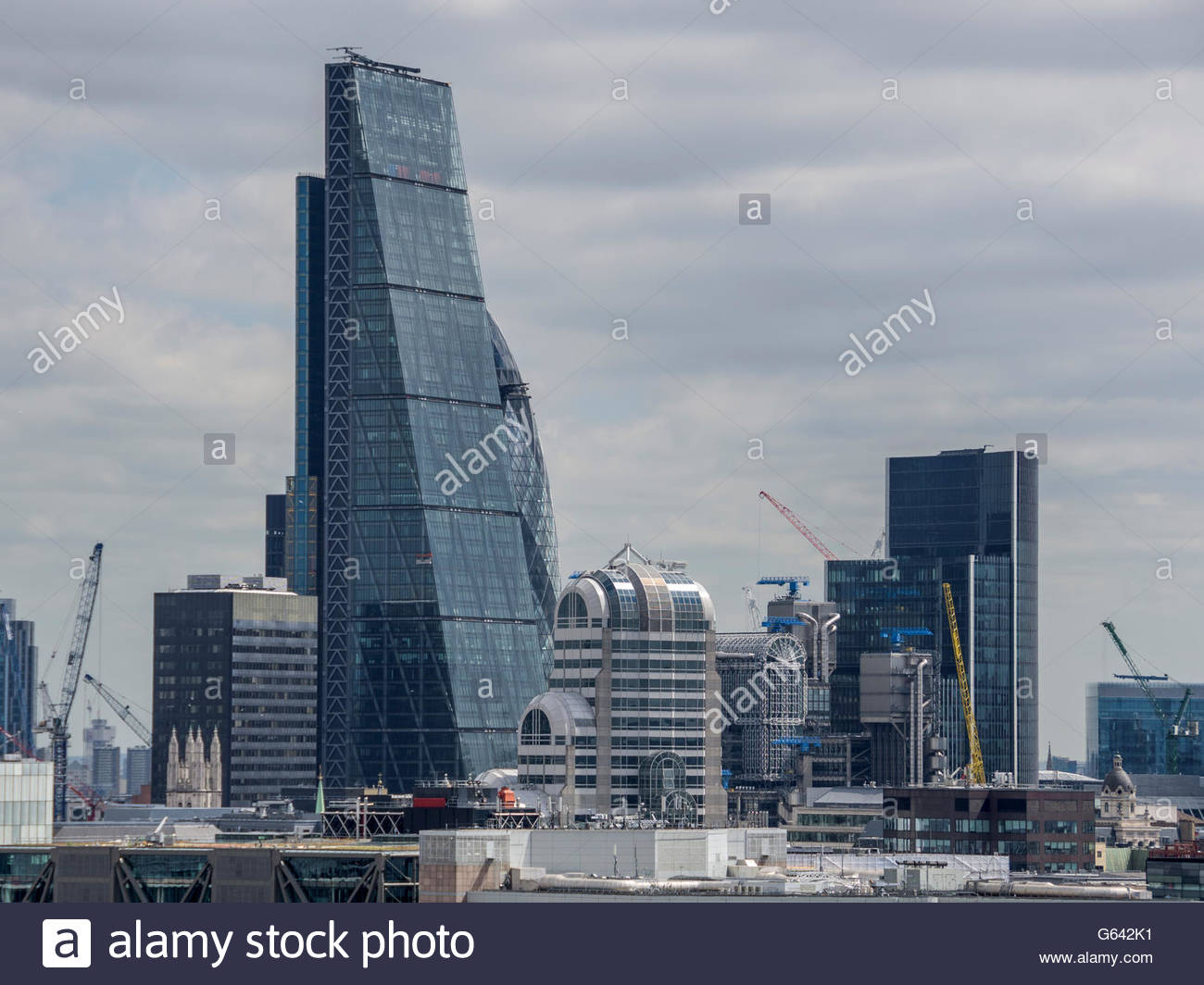 The Cheesegrater - 122 Leadenhall Street - Stock Image