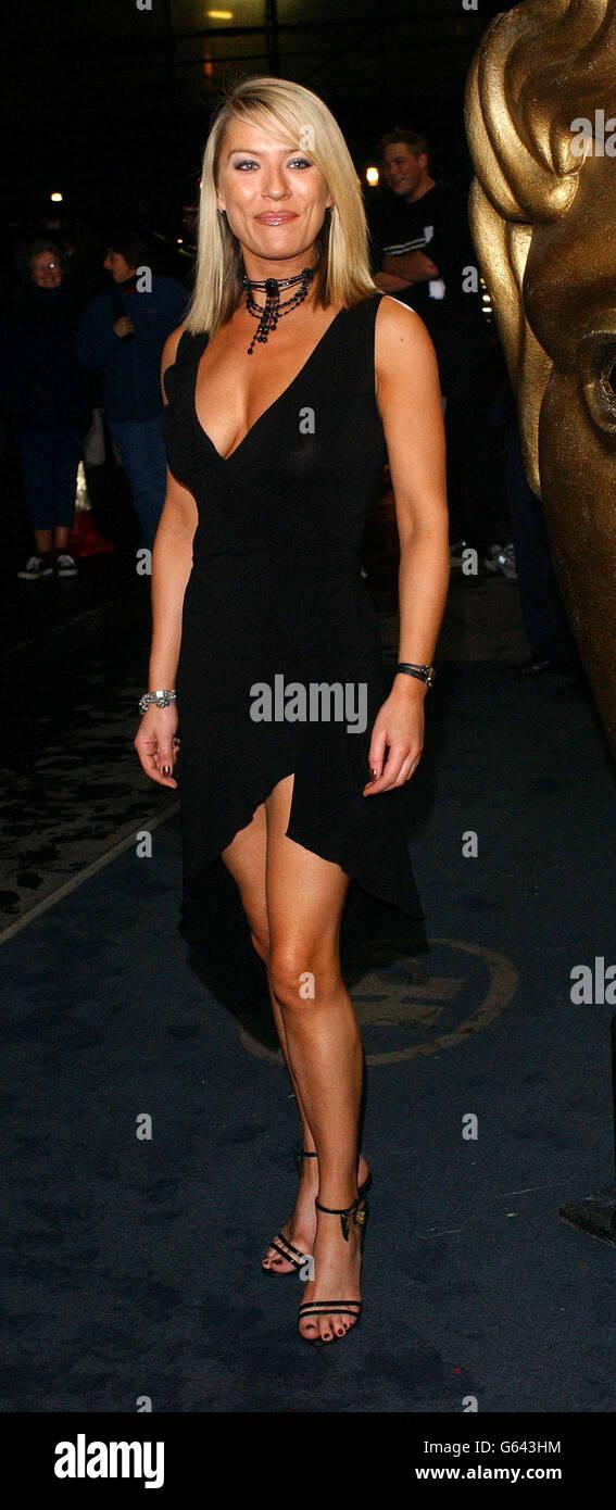 Footballers Wives Actress Zoe Lucker Stock Photos ...