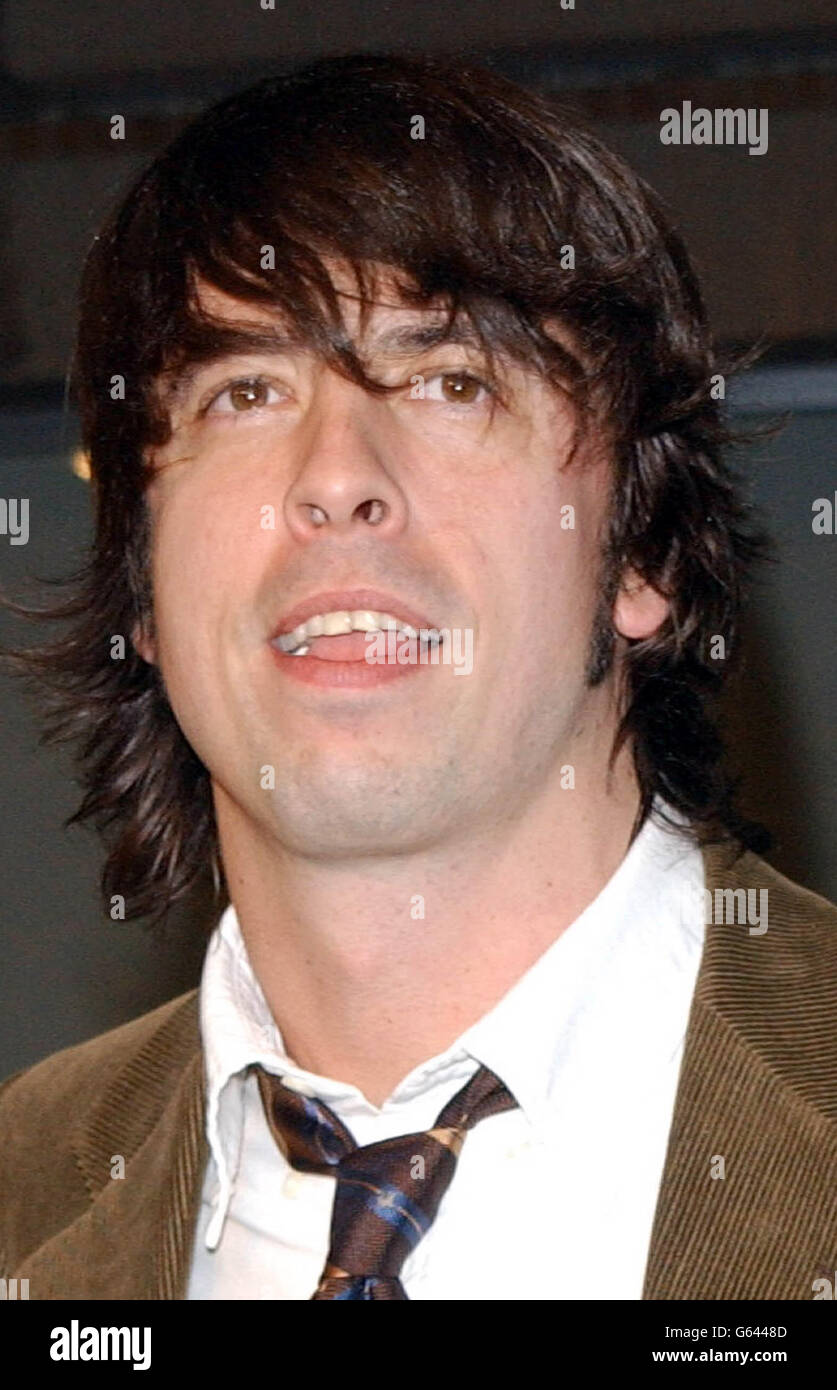 Mtv Dave Grohl Stock Photo Alamy