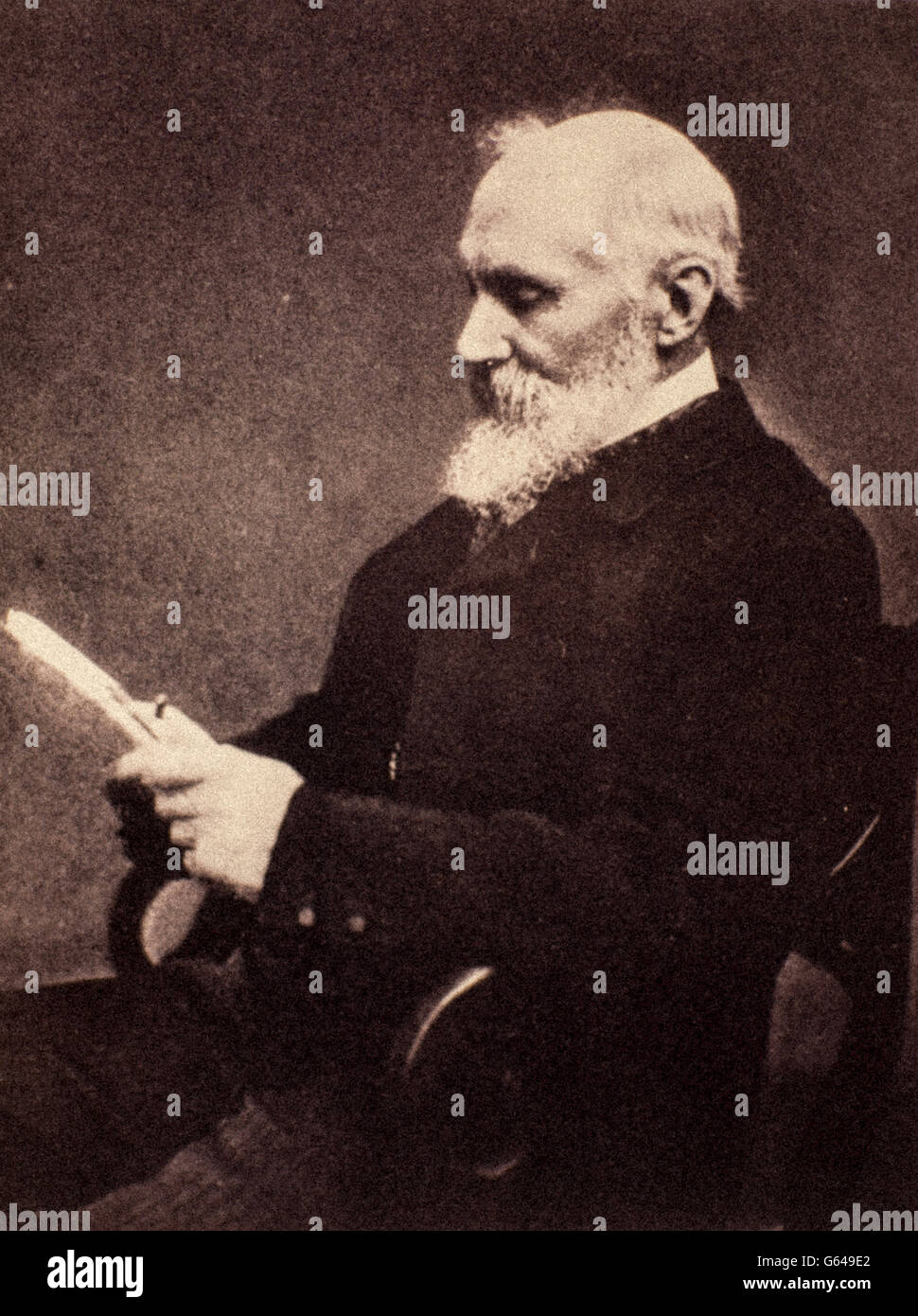 William Thomson, 1st Baron Kelvin (Belfast, 26 giugno 1824 – Largs, 17 dicembre 1907) - Stock Image