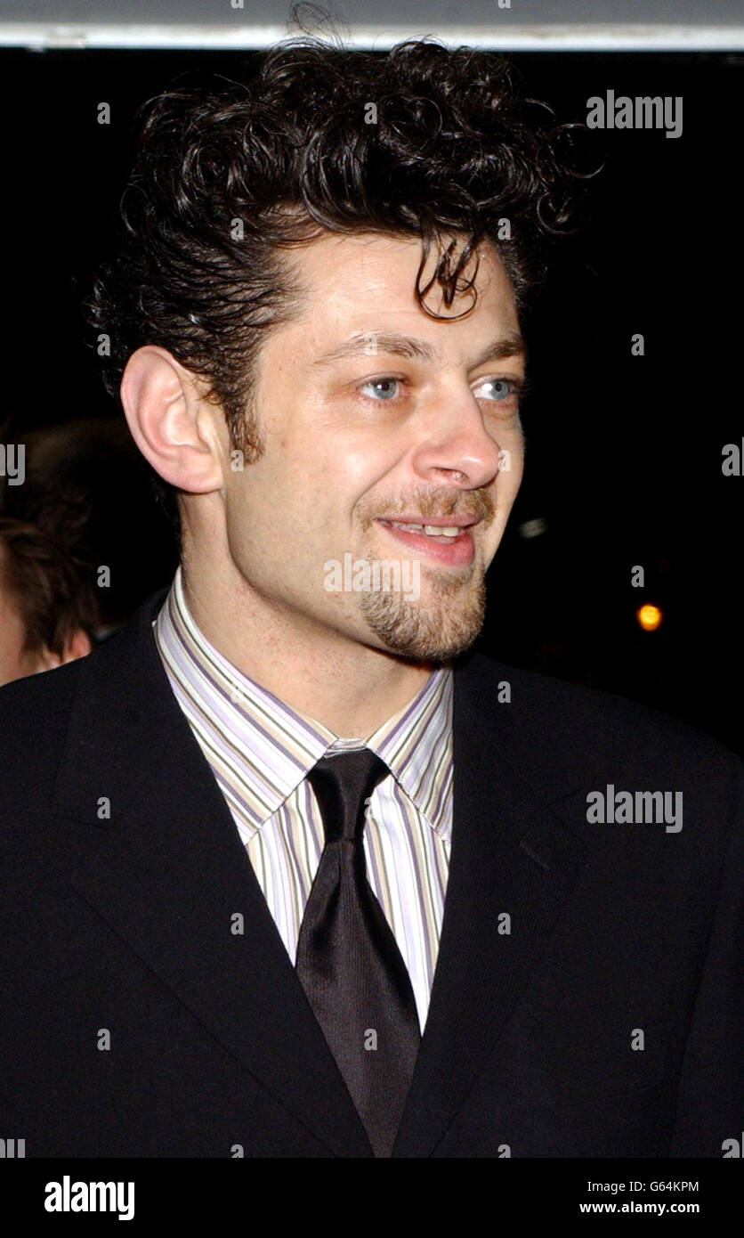 Andy Serkis Lord of the Rings - Stock Image