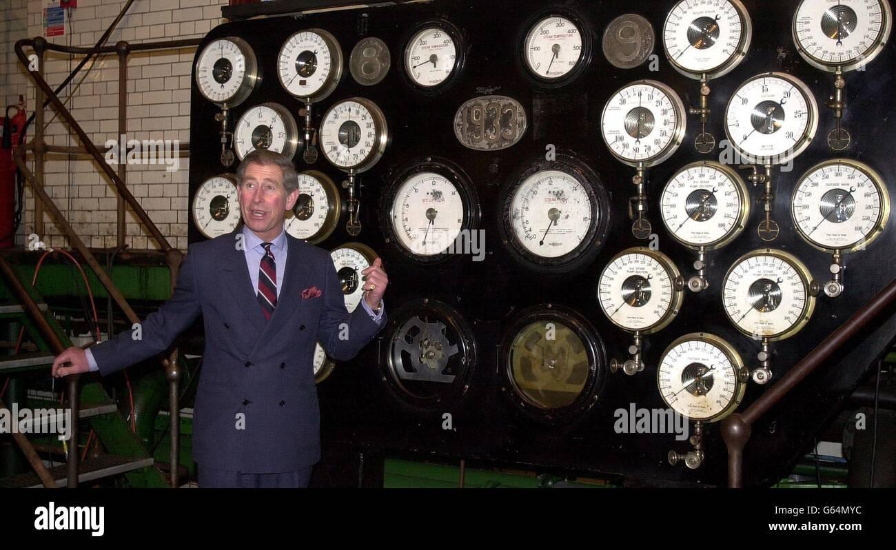 Prince of Wales - Kempton Park Stock Photo