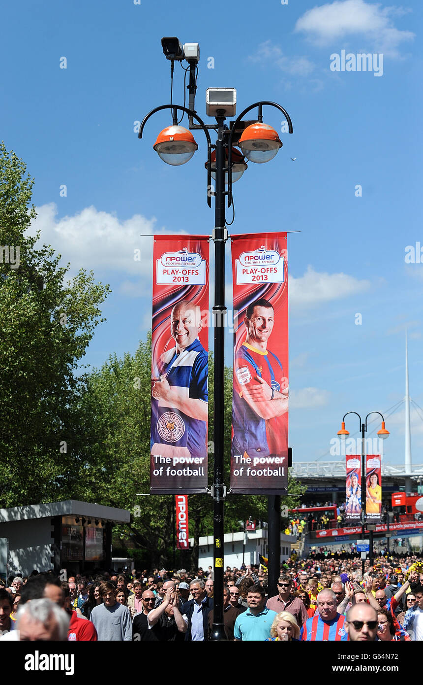 Soccer - npower Football League Championship - Play Off - Final - Crystal Palace v Watford - Wembley Stadium Stock Photo
