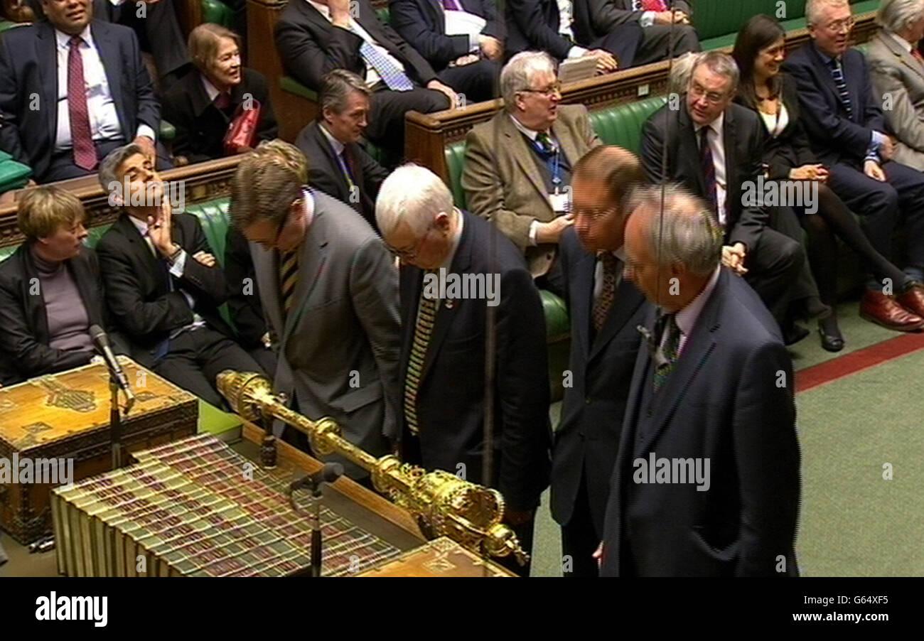 Queen's Speech debate - Stock Image