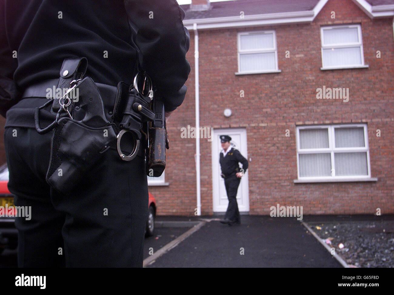 Shooting in Portadown Stock Photo