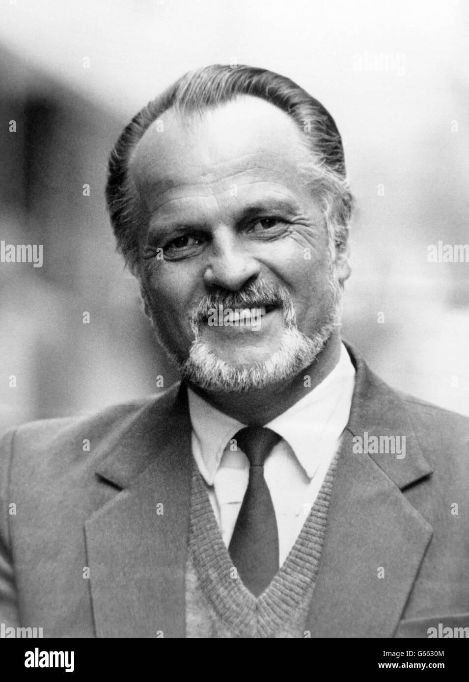 Espionage - KGB Spokesman Colonel Igor Frelin - London - Stock Image