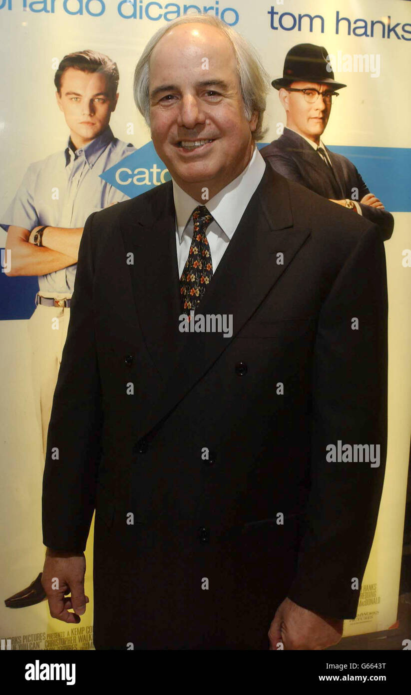 frank w abagnale catch me if you can stock photo 107085100 alamy