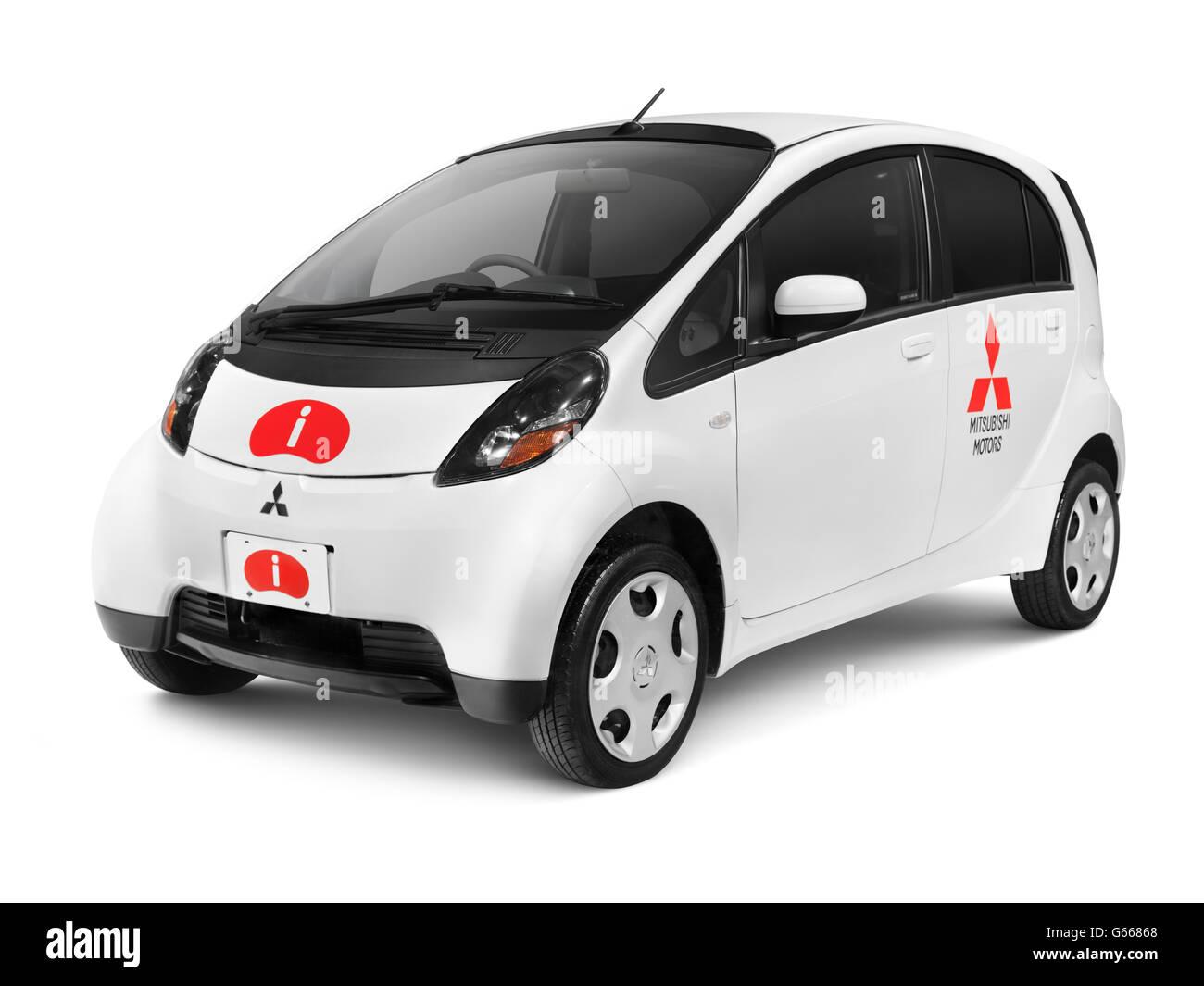 2010 Mitsubishi i kei, small city car - Stock Image