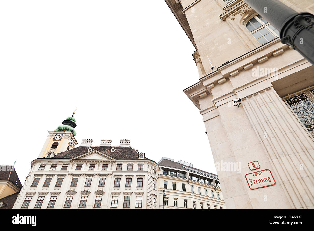 Schottenkirche Church, Our Dear Lady of the Scots, Freyung, Inner City, Vienna, Austria, Europe - Stock Image