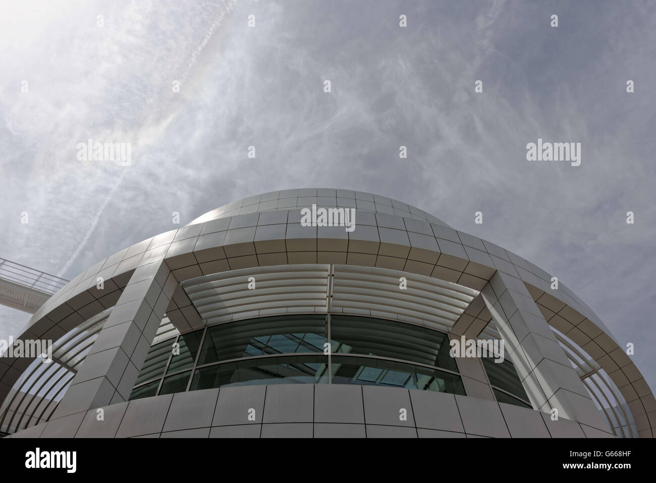 Getty Center. Los Angeles, CA, United States. 10 June, 2016. © Hugh Peterswald/Alamy Live News Stock Photo