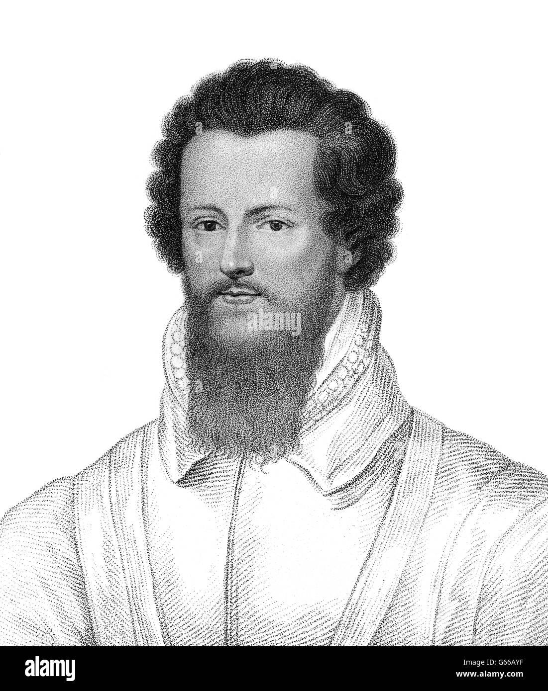 Robert Devereux, 3rd Earl of Essex, 1591-1646, an English Parliamentarian and soldier - Stock Image