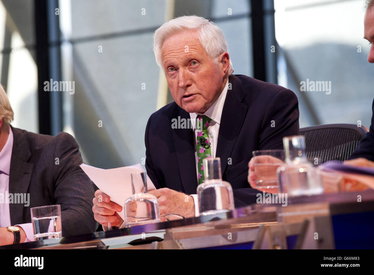 Question Time - Stock Image