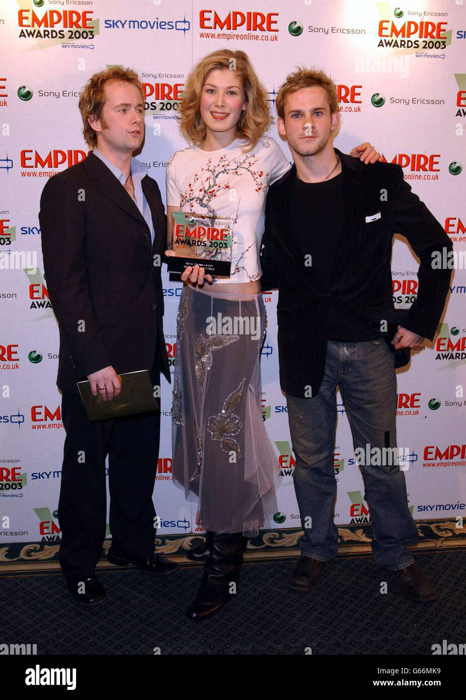 Empire Awards Rosamund Pike - Stock Image