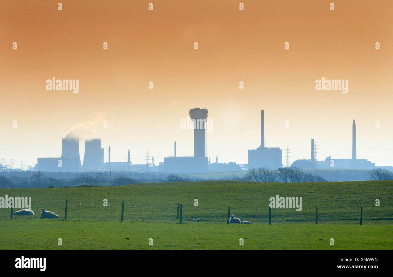 BNFL Sellafield Plant Stock Photo