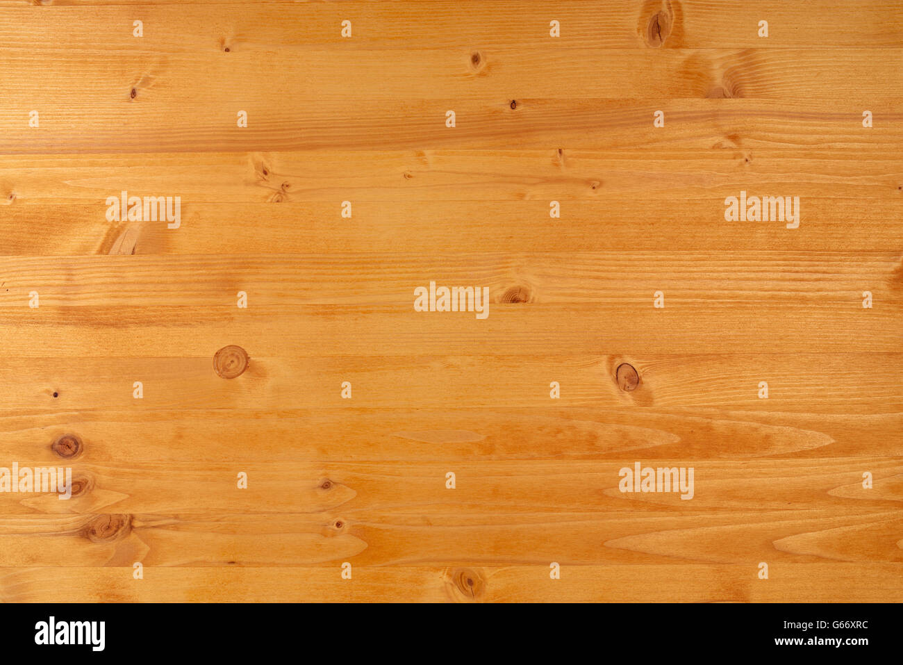 Yellow Pine Wood Plank Texture, Top View Of Wooden Board   Stock Image