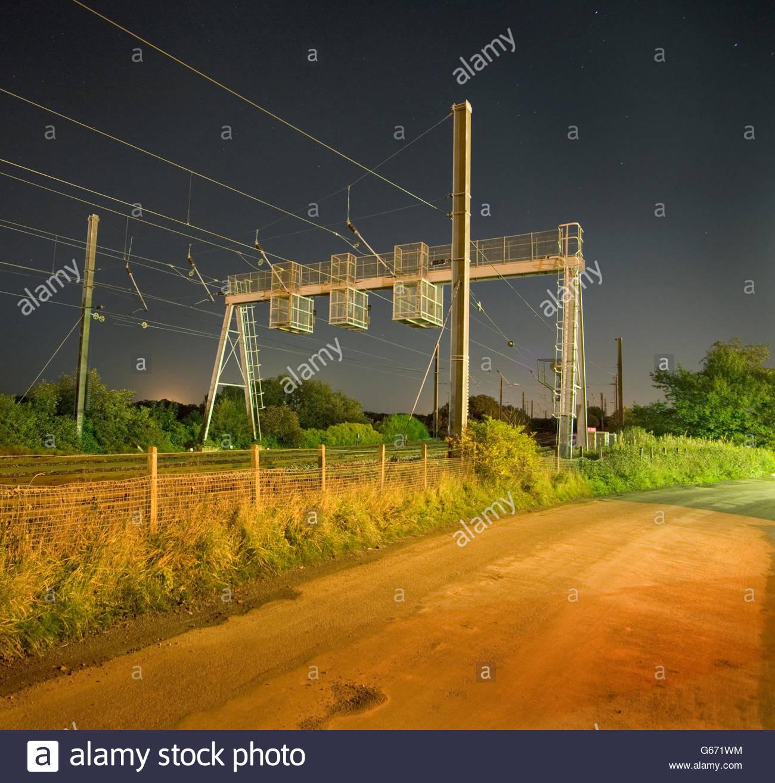 Train Line - Stock Image